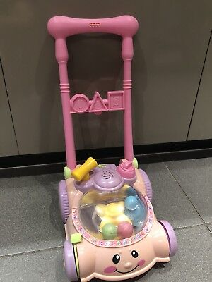 Fisher Price Laugh & Learn Learning Mower  Pink