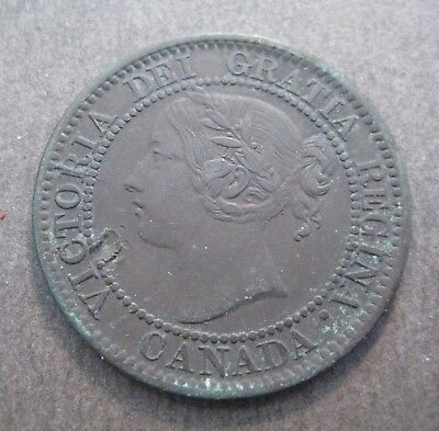 1859 Canada Large Cent - * No Reserve * - (P412)