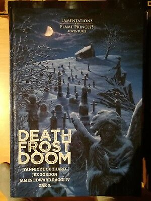 Death Frost Doom - Lamentations of the Flame Princess Abenteuer