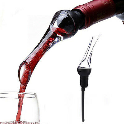 Portable Red Wine Aerator Pour Spout Bottle Stopper Decanter Pourer Aerating
