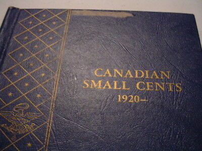 1920-1969 Canada small cents (F-UNC) COMPLETE - 1923 & 1925 included