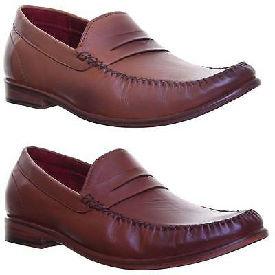 Justin Reece Slip on Leather Sole Loafer Hand Made Size UK 6 - 12