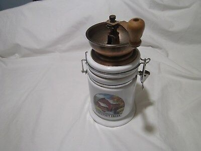 Vintage Coffee Mill Grinder - Chestnut Creek.