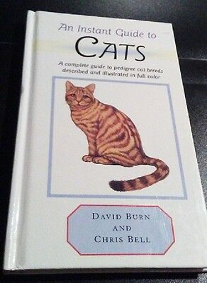 An Instant Guide To Cats By David Burn & Chris Bell - FREE US SHIPPING!