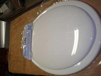 Standard Caroma Toilet Seat White Bottom Fixing....used for 1 week only.