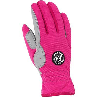 Mountain Horse Happy Womens Gloves Everyday Riding Glove - Flashy Pink All Sizes