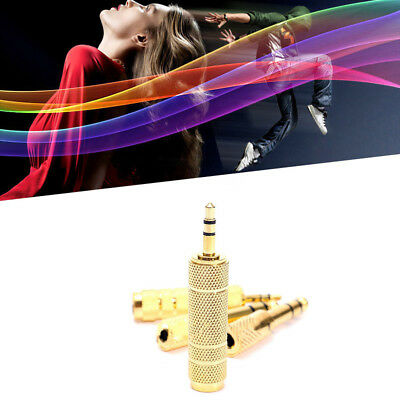 """6.35mm 1/4"""" To 3.5mm 1/8"""" Male To Female Stereo-Audio Adapter auf Microphone Pro"""