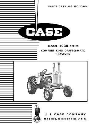 case 930 1030 tractor comfort king seat and suspension assembly rh picclick com Case 530 Wenger's Tractor Parts Sheet Metal Case 800 Tractor