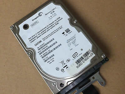"Seagate 80GB Momentus 5400.2 ST98823AS SATA interne 2.5"" Festplatte HDD Laptop"