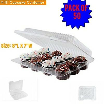 Mini cupcake boxes Mini Cupcake Container, 12 compartment cupcake contain... New
