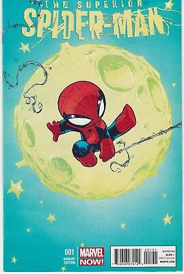The Superior Spider-man #1 - Skottie Young Variant Cover VF+/NM
