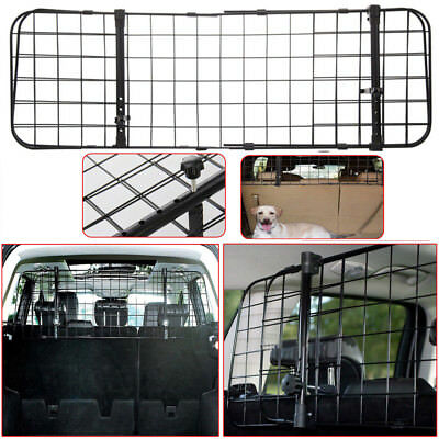 Adjustable Universal Dog Guard Car Travel Mesh Grill Pet Safety Barrier UKDC