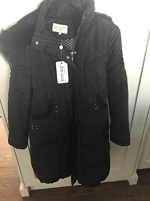 Kimi + Kai maternity Coat Small