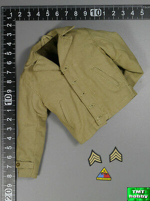 1:6 Scale DID WWII US Military Police A80116 - M41 Field Jacket w/ Patches