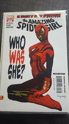 The Amazing Spider-Girl #13 Variant Marvel Zombies SIGNED Arthur Suydam
