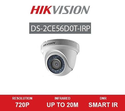 HIKVISION 2MP CCTV COLOUR CAMERA1080p CMOS True Day/Night IR 20m DS-2CE56D0T-IRP
