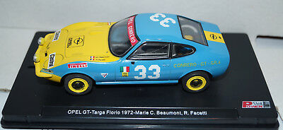 Power Slot Opel GT-Targa Florio 1972 Marie C. Beaumont, R.Facetti No 33 in Box