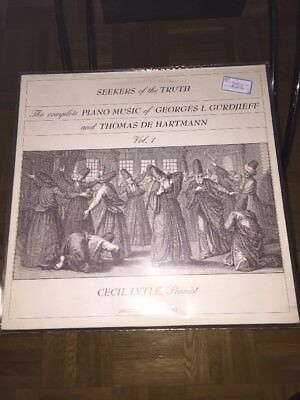 Seekers Of The Truth LP Cecil Lytle Pianist (739)