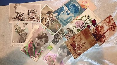 "Lot de 16 cartes postales thème ""1er avril"" - 9x14 cm"