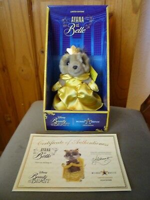 Ayana Meerkat Toy as Belle from Disneys Beauty & the Beast with certificate New