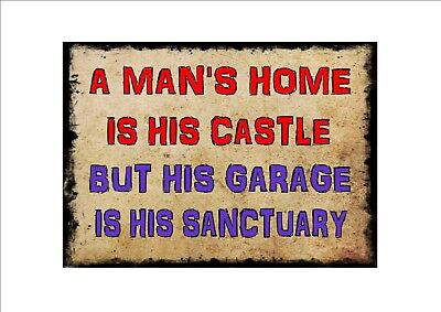 Funny Man Cave Bar Room  Work Place Kitchen Sign Novelty  Metal Door Wall Sign