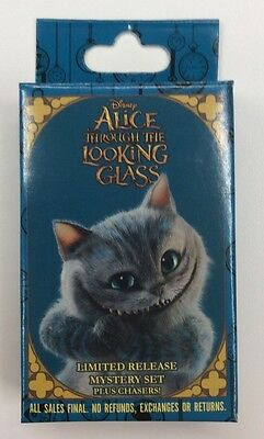 Disney Pin Alice Through The Looking Glass Mystery Box Set One Sealed Box New