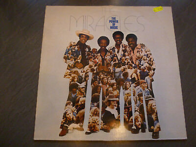 THE MIRACLES-The Power Of Music 1976* Soul Funk Vinyl*