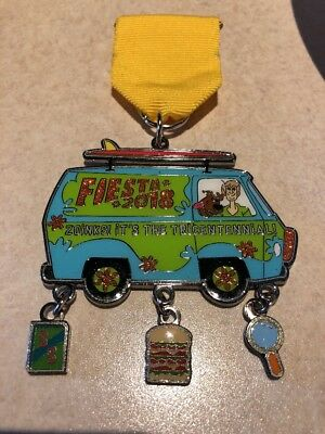 2018 Scooby Doo Zoinks! Its The Tricentennial! Fiesta Medal