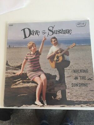 Dave And Susanne LP Walking In The Sunshine