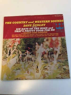 Dave Dudley And Glenn Cass LP Country And Western Sounds