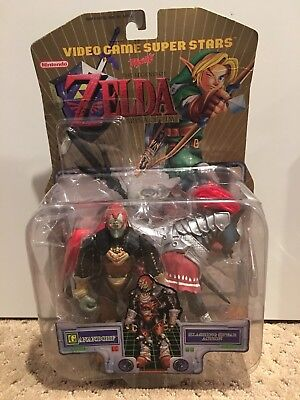 Toy Biz Legend of Zelda Ganondorf Figure 2000 Nintendo Sealed