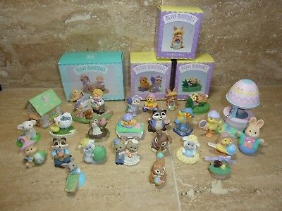 Hallmark Merry Miniatures Easter Lot Of 24