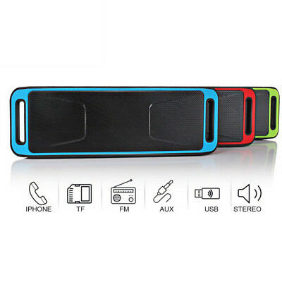Cassa Portatile Con Ingresso Usb Sd Mp3 Bluetooth Tablet Smartphone Speaker Pc