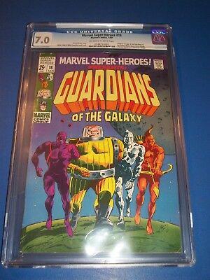 Marvel Super-Heroes #18 Silver Age 1st Guardians of the Galaxy Key CGC 7.0 Wow