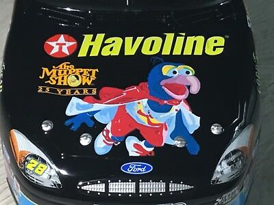 XRARE 1/24 Ricky Rudd #28 Havoline GREAT GONZO The Muppets Show Die-Cast NASCAR