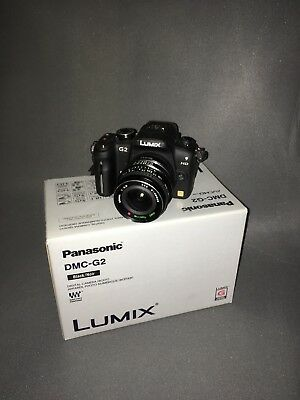 Panasonic LUMIX DMC-G2 12.1MP Digital Camera - Black (Body Only)