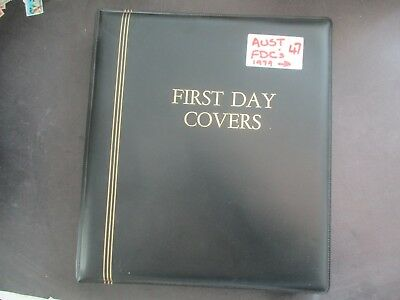 ESTATE: FDC collection in album with pages and covers heaps  (7298)