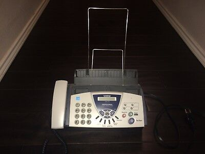 Brother FAX-575 Personal Fax Machine with Phone and Copier -Small Business