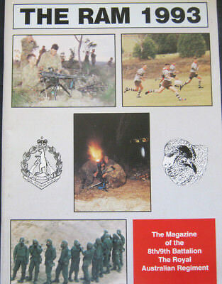 "8th/9th Battalion Royal Australian Regiment magazine 1993 ""The Ram"""