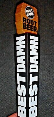 *NEW* BEST DAMN - ROOT BEER - BEER TAP HANDLE (New in the Box)