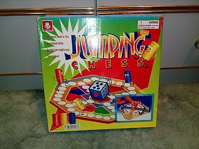 Jumping Chess Game