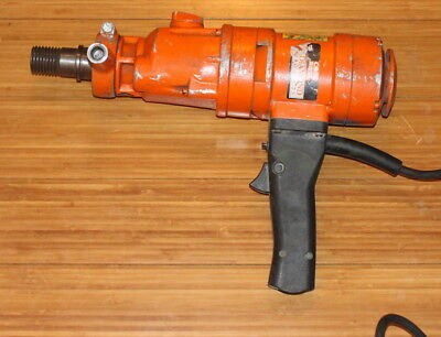 Used Weka Core Bore Hand Held Core Drill model DK 1203 Electric