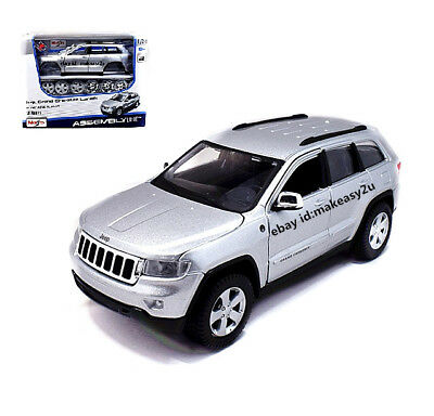 1 24 Jeep Grand Cherokee Laredo Embly Kit Diy Metal Model Car Silver New