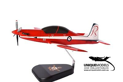 Pilatus PC-9 Desktop Model - RAAF Roulette Livery - 1:25 Scale - New
