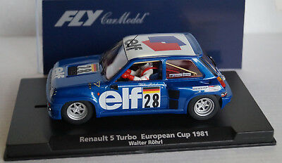 FLY Renault 5 Turbo European Cup 1981 Walter Röhrl No 28 in Box  Neu