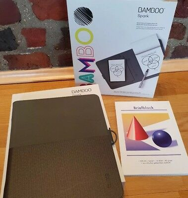 Wacom CDS600P Bamboo Spark Smart Folio (inkl. Tablet-Tasche) mit DIN A5-Block