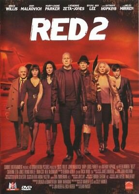 Red 2 (Bruce Willis, John Malkovich, Anthony Hopkins) - DVD