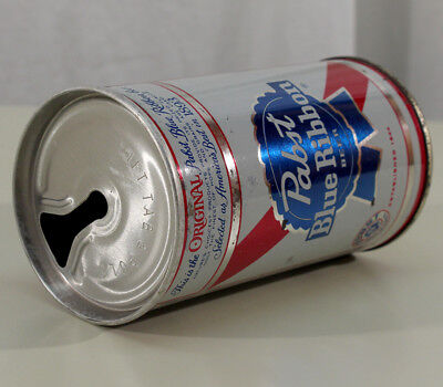 Pabst Blue Ribbon Zip Top Newark New Jersey Pulltab Beer Can Pbr Nj Virginia Tax