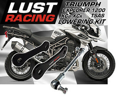 Triumph Tiger Explorer 1200 XCa XCx Lowering Kit 2016 2017 2018 Links 40mm