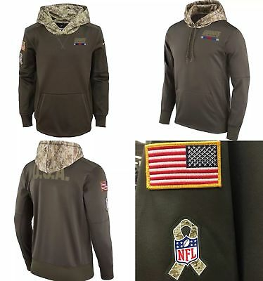 New York Giants Nike 2017 Salute to Service Sideline Therma Hoodie sz XL b5dae2123